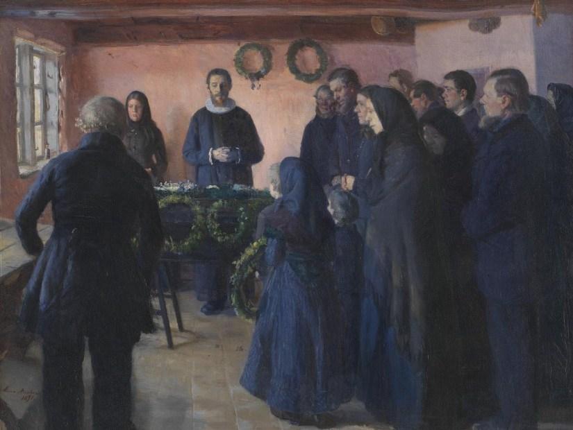 Julekalender fra SMK Anna Ancher - en begravelse