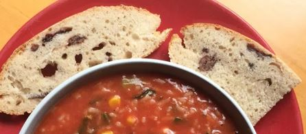 frugal recipes: tomato rice soup