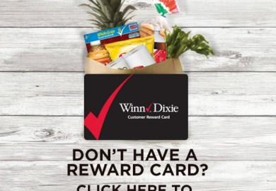 Winn Dixie Reward Card Replacement