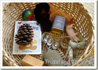 Frugal Baby Play Ideas Inspired By RIE Montessori And Waldorf
