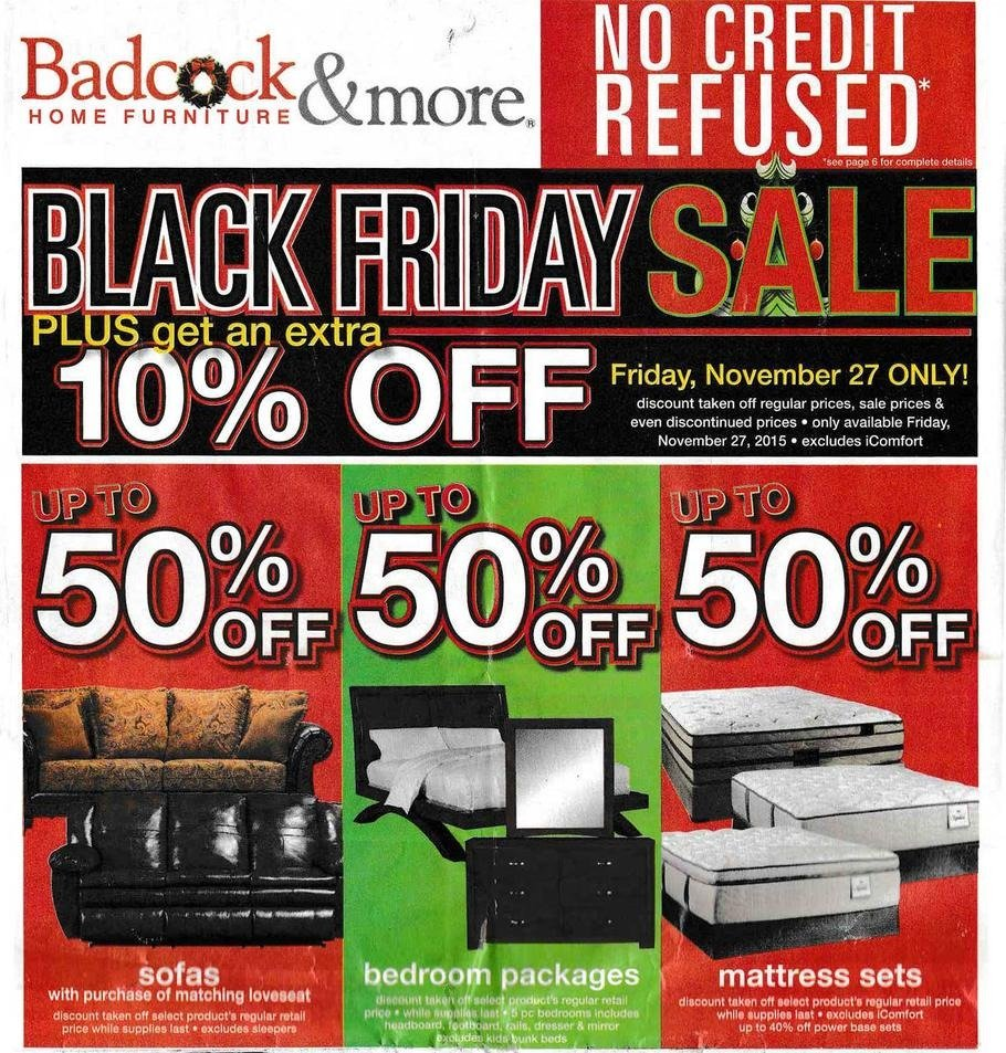 Badcock Home Furniture Amp More 2015 Black Friday Ad