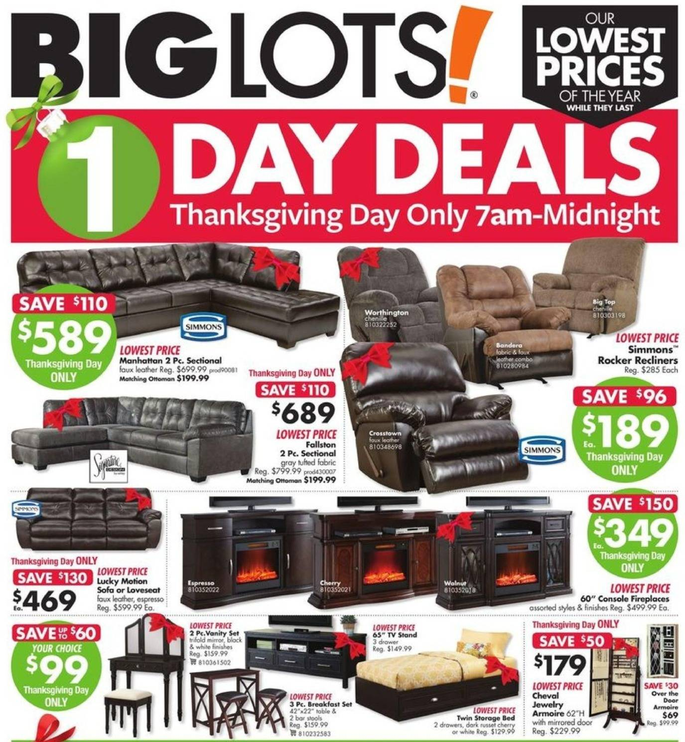 sofa black friday 2017 how to build a bed from scratch big lots ad