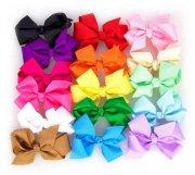 cheap girl's hair bows - clips