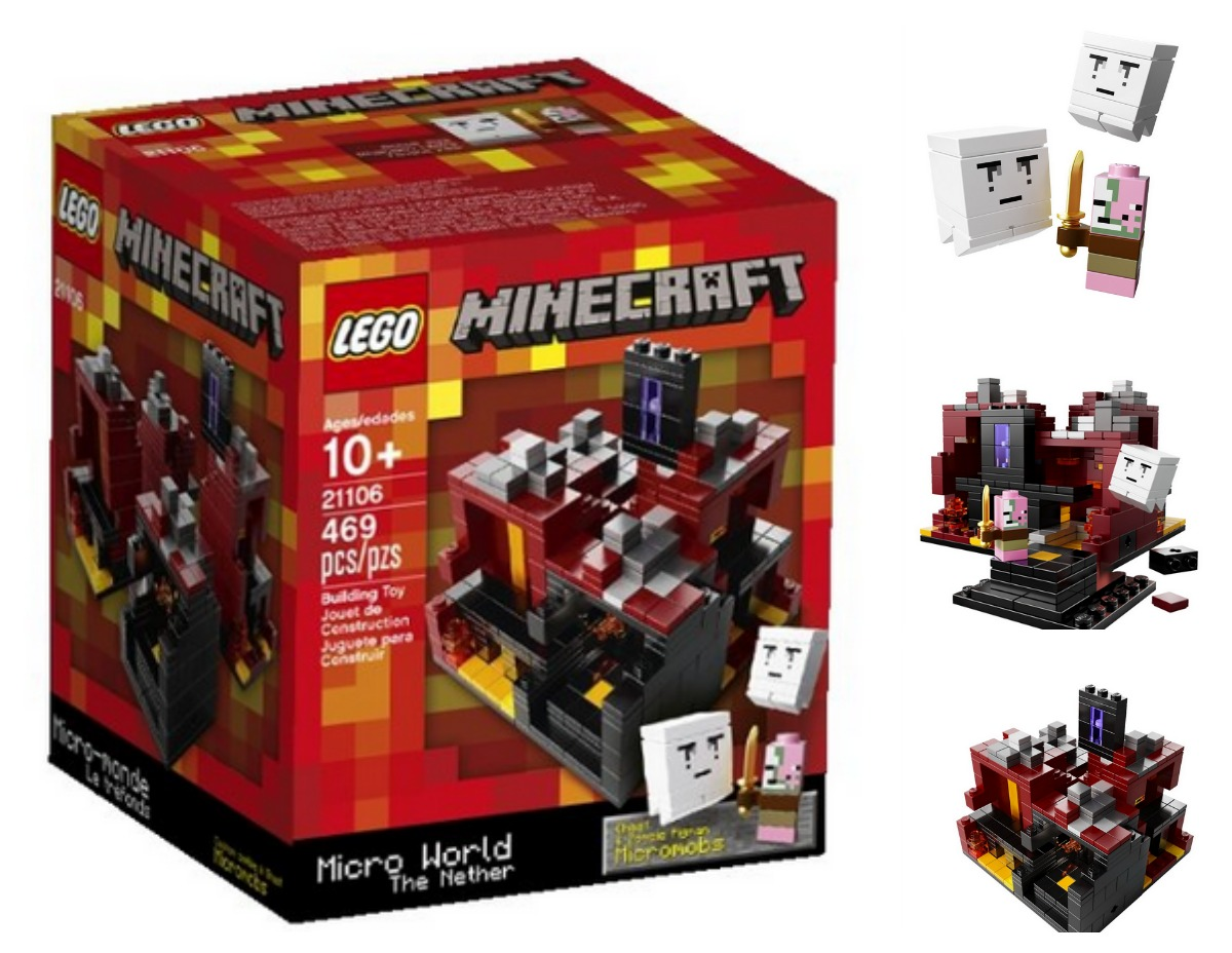 Minecraft LEGO Sets The NetherThe Village Amp The