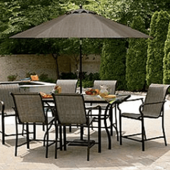 Garden Oasis Patio Chairs Revolving Chair Dealer In India Furniture Discounted 70 East Point 7 Pc High Furnitture