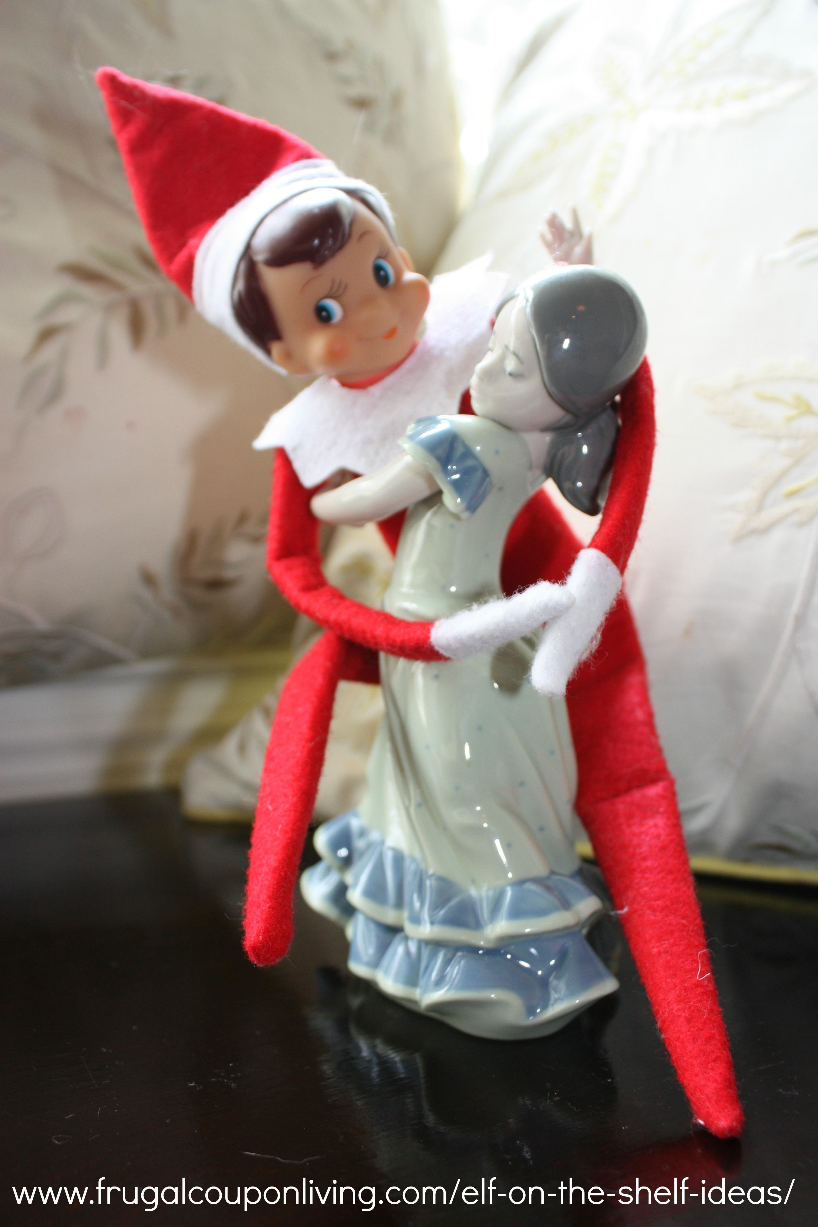 Dancing Elf Shelf