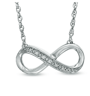 Zales Diamond Accent Infinity Necklace $24.99 from $119