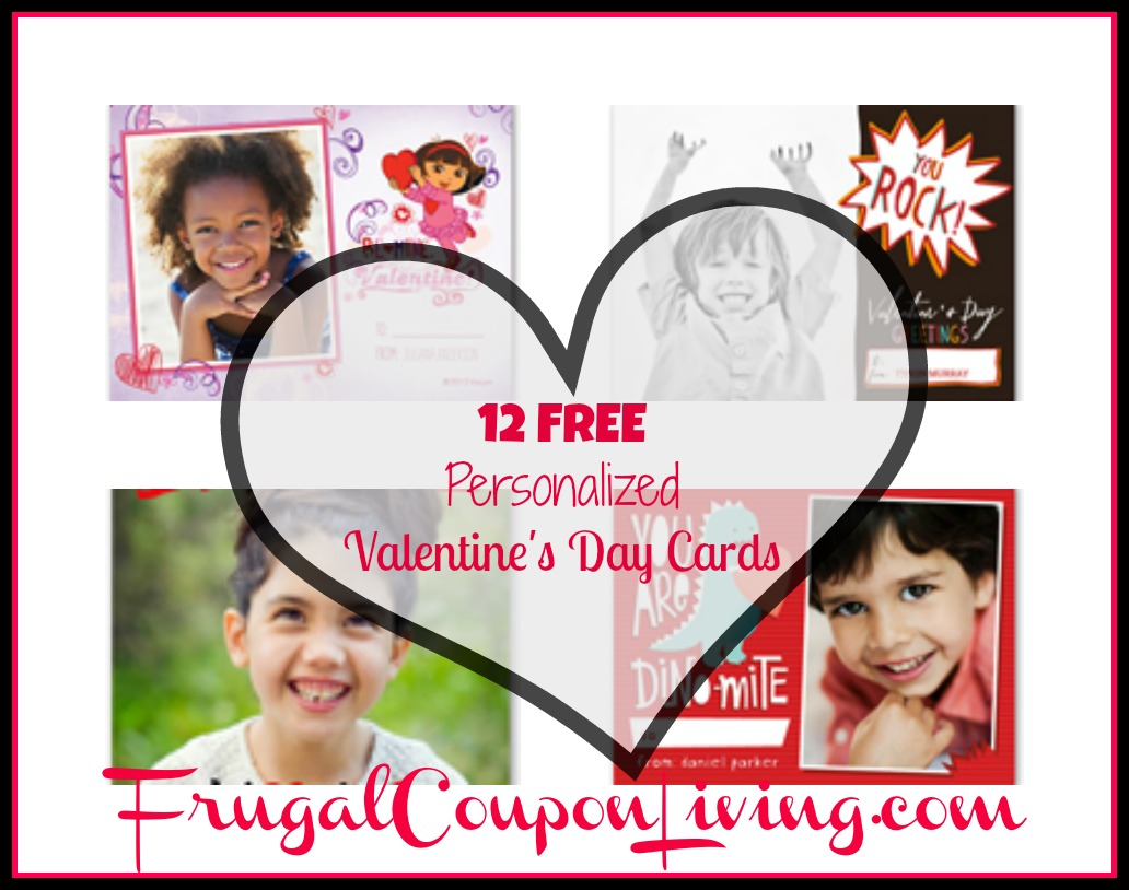Shutterfly FREEBIE 12 Free Valentines Day Cards