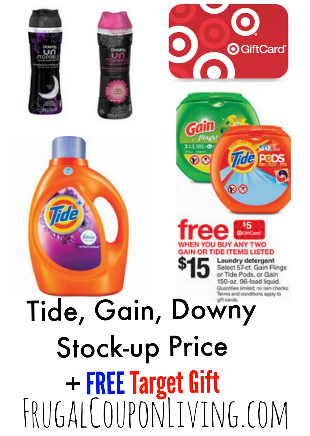 Target Laundry Detergent Deals Tide Amp Downy Printable