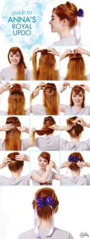 frozen hair tutorials - elsa