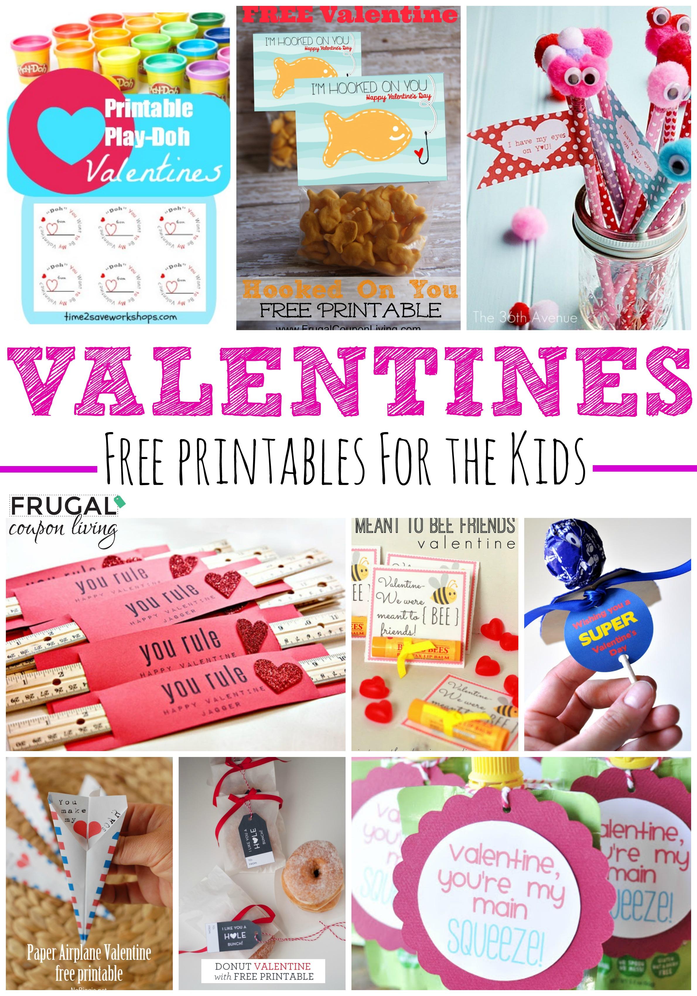 20 Frugal DIY Kids Valentines