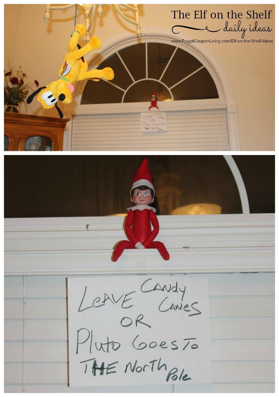 Elf On The Shelf Ideas Kidnapped Stuffed Animal