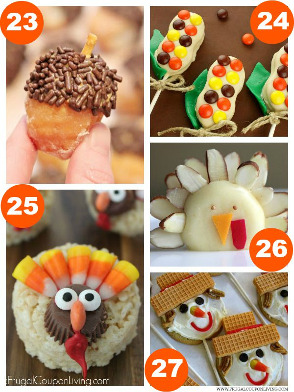 Kid Food Craft Thanksgiving Collage 6