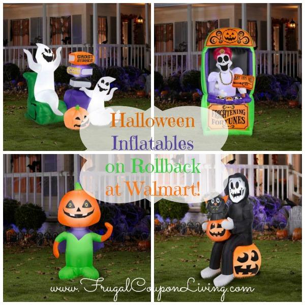 Halloween Inflatables On Rollback At Walmart