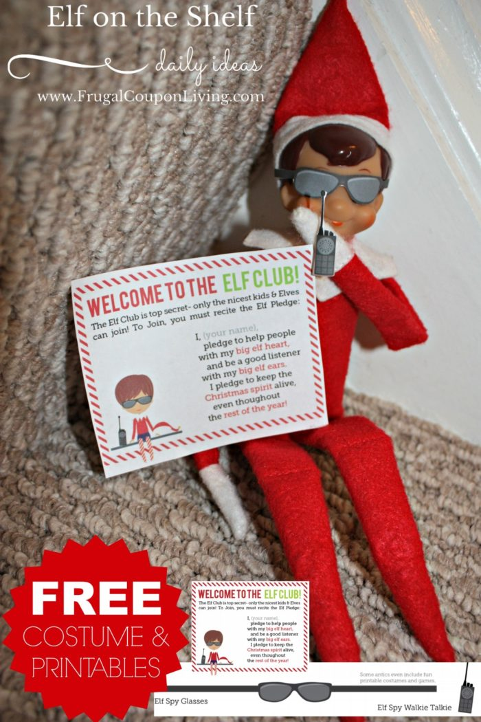 Elf On The Shelf Ideas Elf Is On A Mission