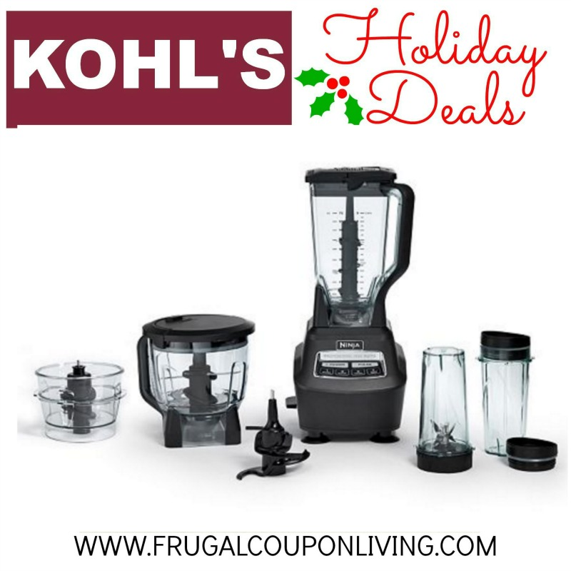walmart ninja mega kitchen system kitchens direct kohl's black friday blender $88 from $250