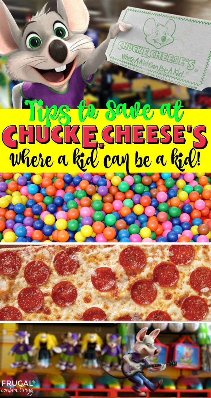 5 Ways To Save At Chuck E Cheese
