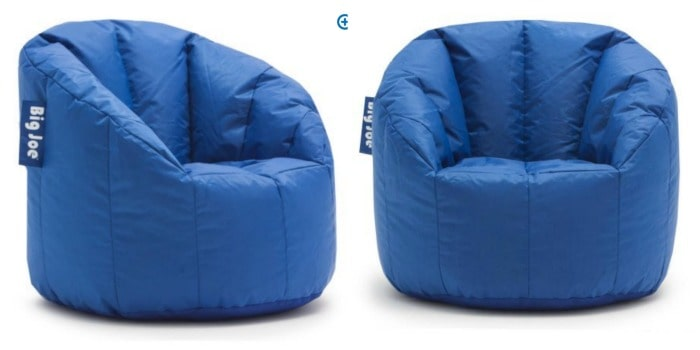 big joe bean bag chair design sofa chairs only 25 pick up these super comfy milano for just from walmart right now come in multiple colors at the same low price of