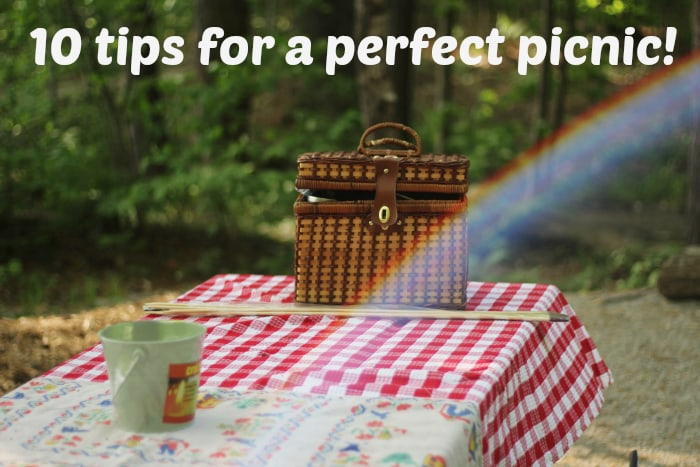 10 tips for a perfect picnic….