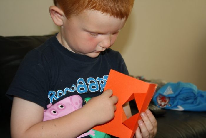 Make your own pop up monster….