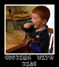 Cooking with Kids – Cheese Straws….