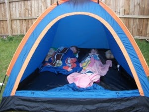 Camping – Possibly not for me….