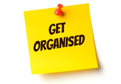 Get Organised – The New Improved Me….