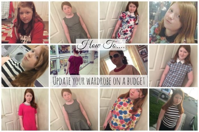 Easy Ways to update your wardrobe on a budget….