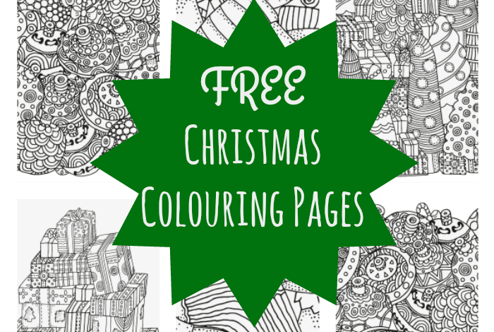 5 absolutely free beautiful christmas colouring pages the diary of a frugal family