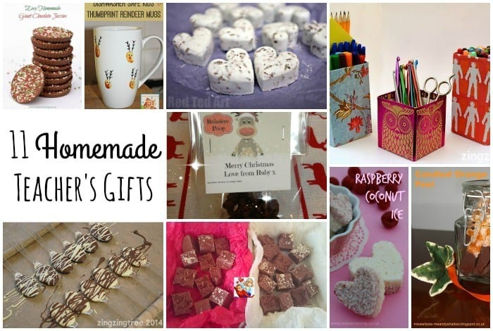 11 Lovely Homemade Teacher's Gifts