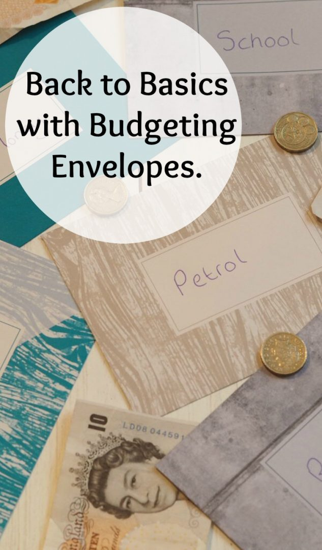 Back to Basics with Budgeting Envelopes....
