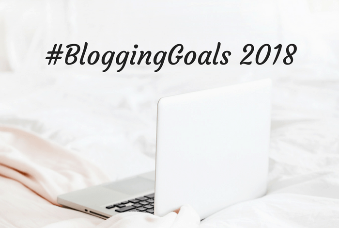 #BloggingGoals 2018