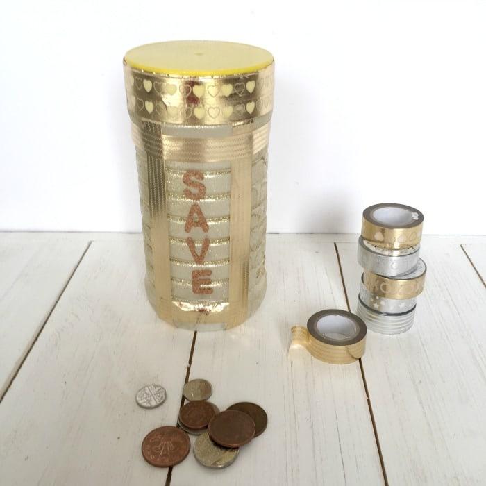 DIY Money Savings Jar