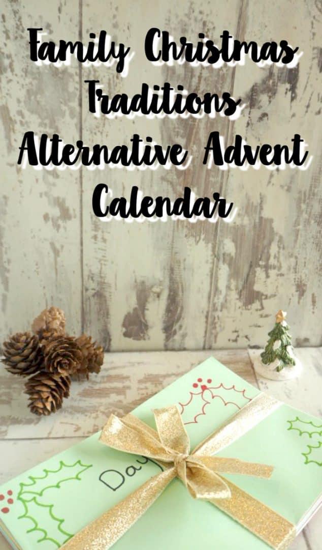 Family Christmas Traditions Alternative Advent Calendar