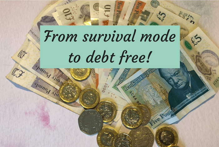 From survival mode to debt free!