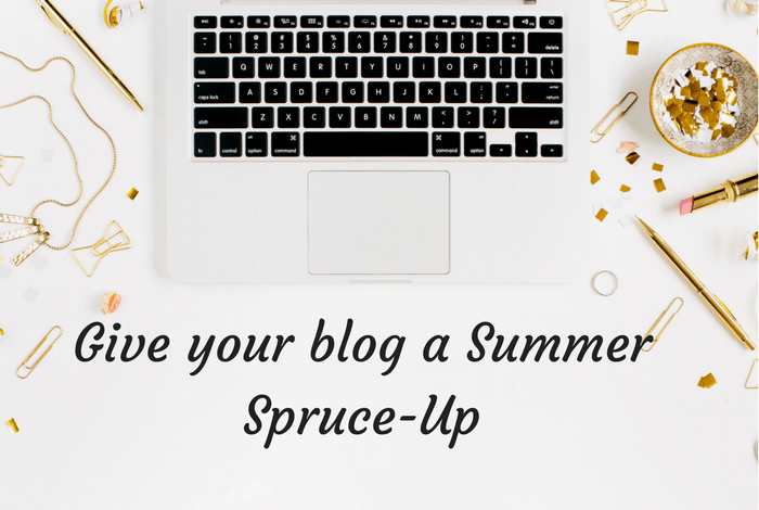 Give your blog a Summer Spruce-Up….
