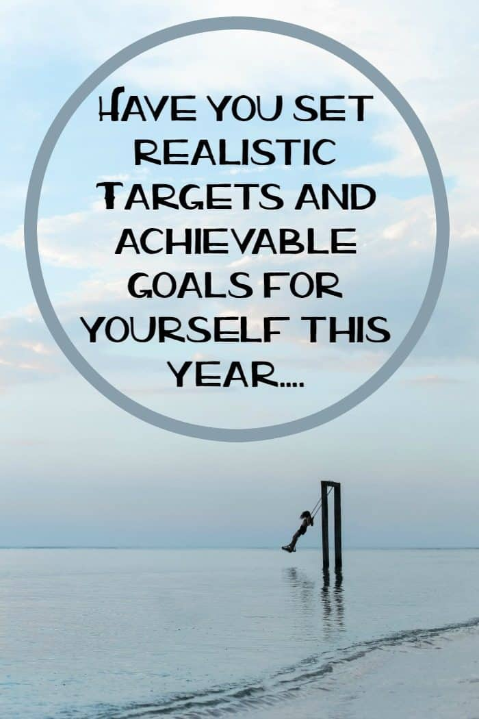 Have you set realistic Targets and achievable goals for yourself this year....