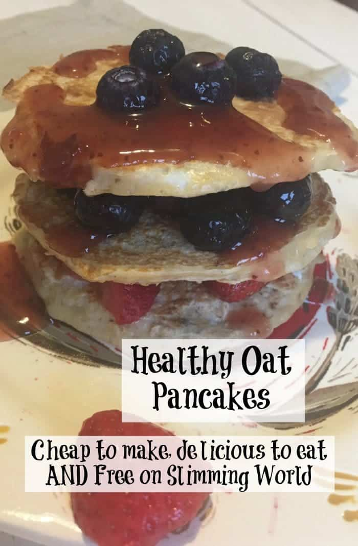 Healthy Oat pancakes - Cheap to make, delicious to eat AND Free on Slimming World