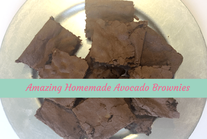 Yummy Avocado Brownies….