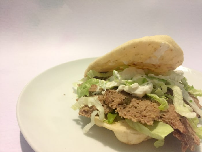 Homemade doner kebab recipe
