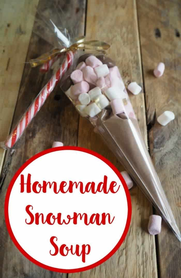 How to make Snowman Soup - the perfect homemade gift for family and friends but an even better treat for you and the kids!