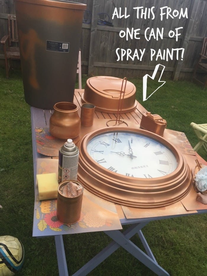 Five frugal things i ve done this week 1st september 2017 - Applying the pretty copper accessories into your kitchen ...