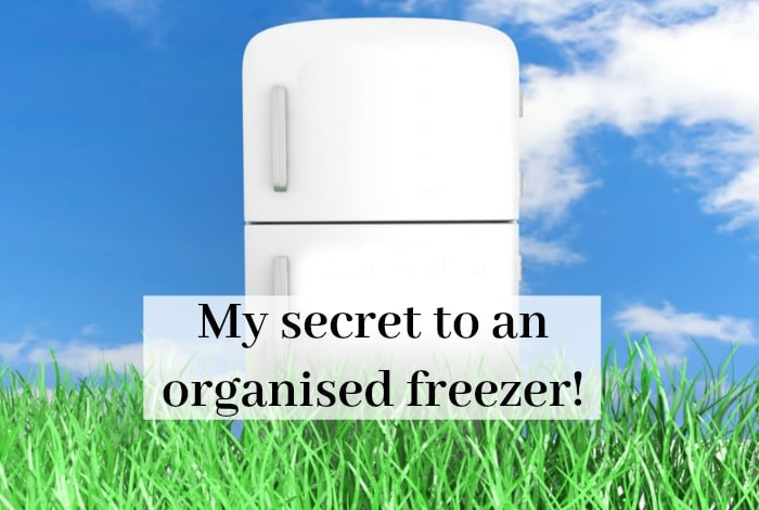 My secret to an organised freezer….