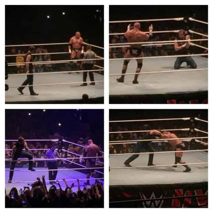 WWE Wrestlemania Revenge tour 2016