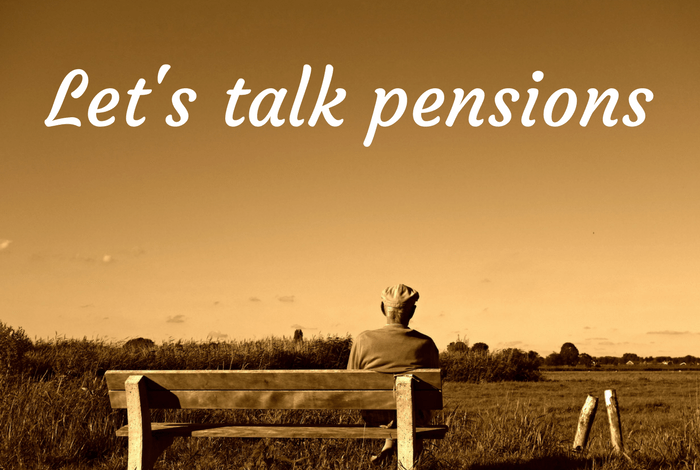 Let's talk pensions….