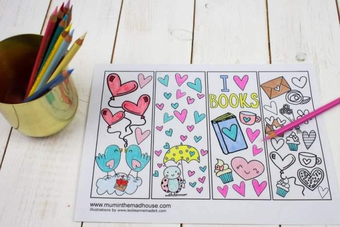 Thrifty Valentines crafts for kids