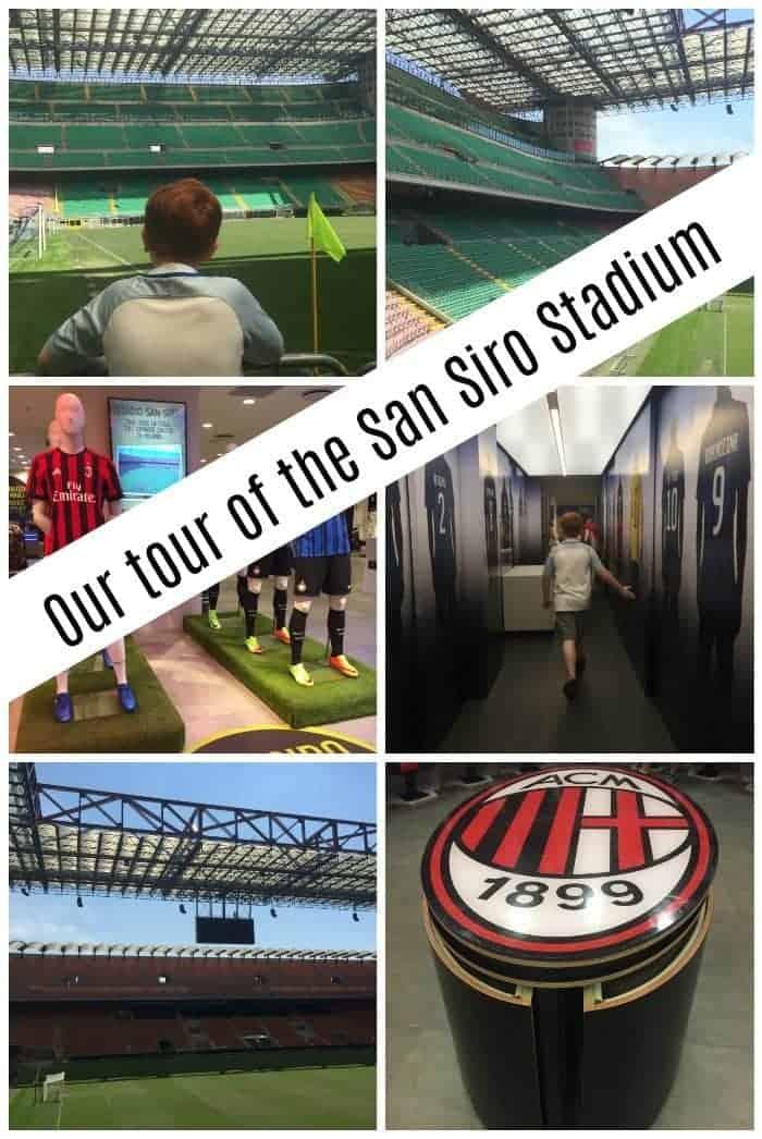 Our tour of the San Siro Stadium