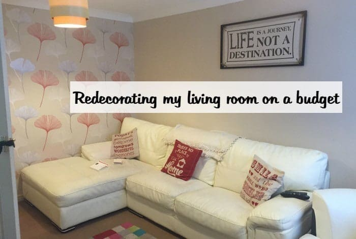 Redecorating My Living Room On A Budget In Just One Day!