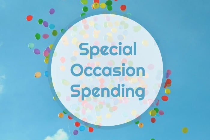 Special Occasion Spending is something I budget for through the year so my #OccasionalSpending is always accounted for in my spending.