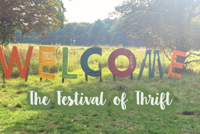 My Festival of Thrift Thrifty Haul 2018….